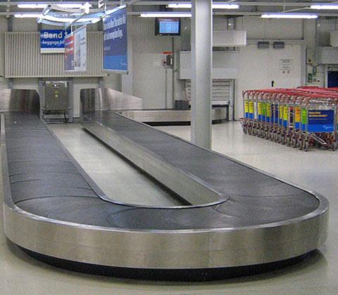 تسمه نوار نقاله فرودگاهی